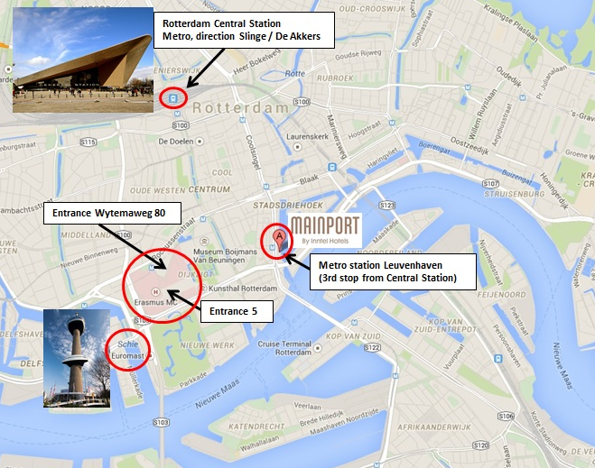 How to find your way to the Rotterdam meeting Ubiquitous